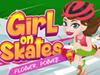 Girl on Skates: Flower Power